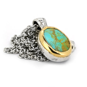 Abyss Turquoise Pendant