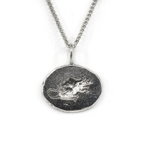 Rat Engraved Pendant