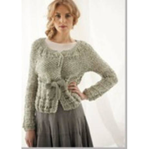 029 Jo Sharp Twisted Drop Stitch Cardigan Pattern Default Title