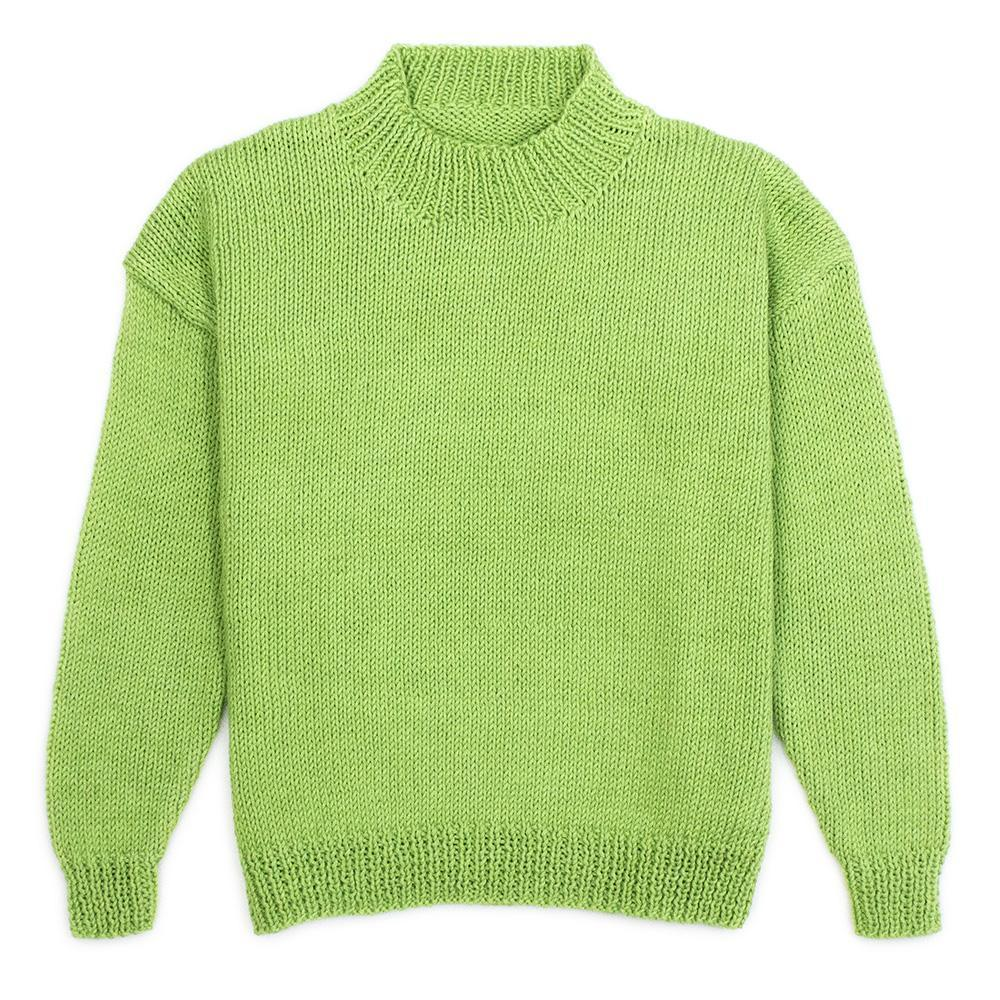 782 Milton Child's Crew Neck Sweater Pattern