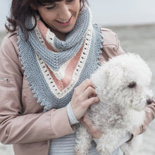 Load image into Gallery viewer, Dawn Skies Shawl Pattern