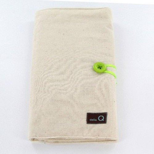 Della Q Double Interchangeable Needle Case Natural