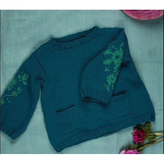 Ditsy Kid's Sweater pattern