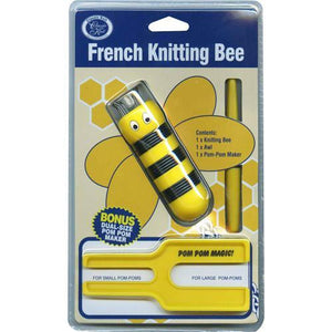 French Knitting Bee and Pom Pom Maker