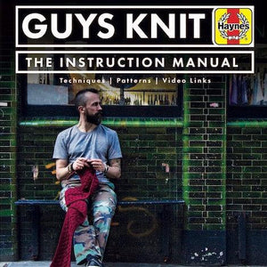Guys Knit - book by Nathan Taylor