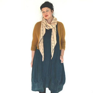 Ochre Cardigan Pattern by Ambah O'Brien