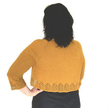 Load image into Gallery viewer, Ochre Cardigan Pattern by Ambah O'Brien