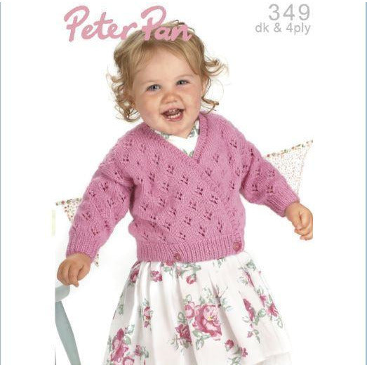 Peter Pan Pattern Booklet of Baby & Children Knits in DK & 4Ply