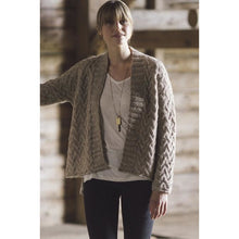 Chestnut Cardigan Plain & Simple: 11 Knits To Wear Every Day by Pam Allen