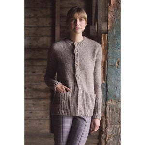 Walnut Cardigan Plain & Simple: 11 Knits To Wear Every Day by Pam Allen