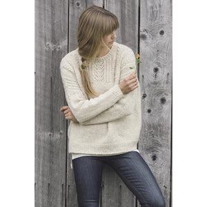 Willow Sweater Plain & Simple: 11 Knits To Wear Every Day by Pam Allen