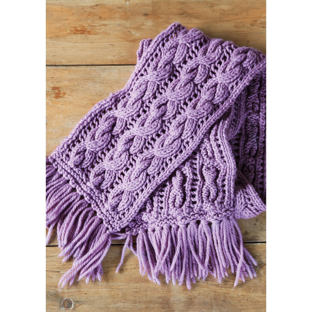 Rowan Tangle Scarf Pattern