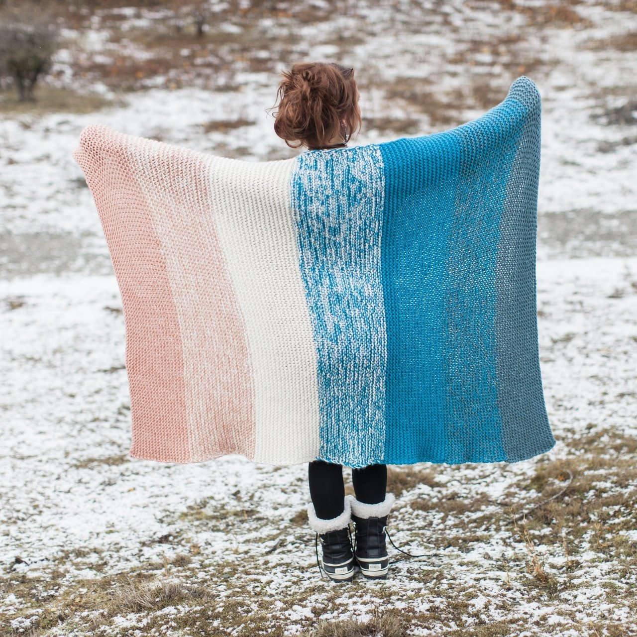 b0e7748f5f Snuggle Blanket Pattern – Knitnstitch