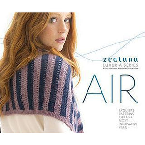 Zealana Air Lace Luxury Knitting Pattern Book Volume 2