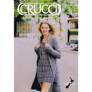 Zig Zag Cabled Long Cardigan Coat pattern leaflet