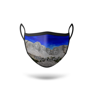 """Mount Thugborn"" Face Mask"