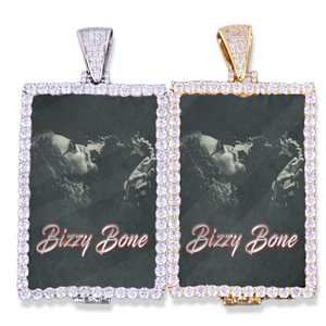 Bizzy Bone Classic - Photo Rectangle Pendant