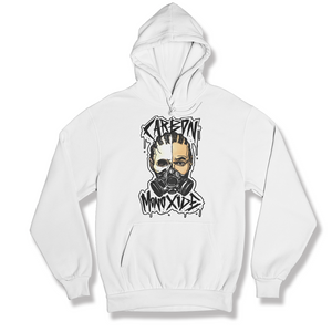 """Carbon Monoxide"" Gas Mask Hoodie (Black/White)"