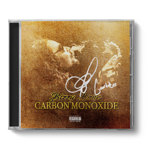 "(LIMITED GOLD EDITION) ""Carbon Monoxide"" (Signed CD) + Tee + 8x10 Poster"