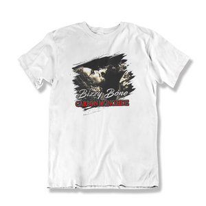 """Carbon Monoxide"" Ripped Album Tee (White)"