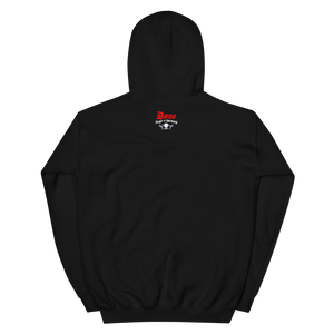 """Carbon Monoxide"" Gas Mask Hoodie (BRed)"
