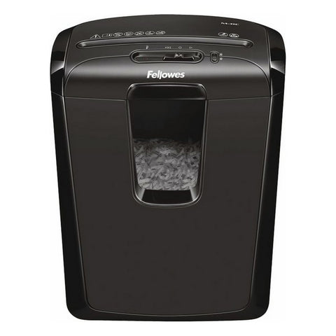 Micro-Cut Paper Shredder Fellowes M-8C 15 L 8 Sheets Black