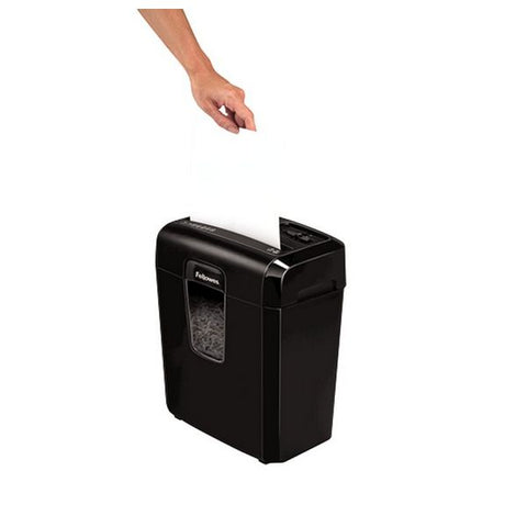 Micro-Cut Paper Shredder Fellowes 8Cd 14 L 4 x 35 mm Black