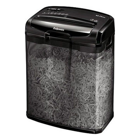 Micro-Cut Paper Shredder Fellowes M-7CM 13 L 7 Sheets Black