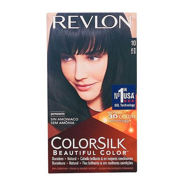 Dye No Ammonia Colorsilk Revlon Black