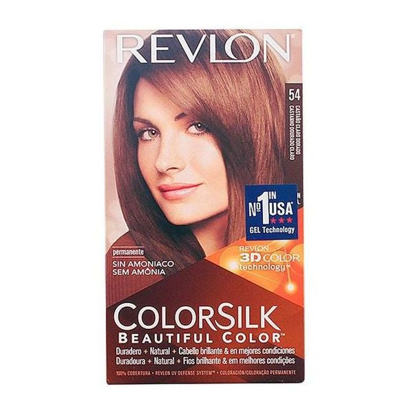 Dye No Ammonia Colorsilk Revlon Light golden brown
