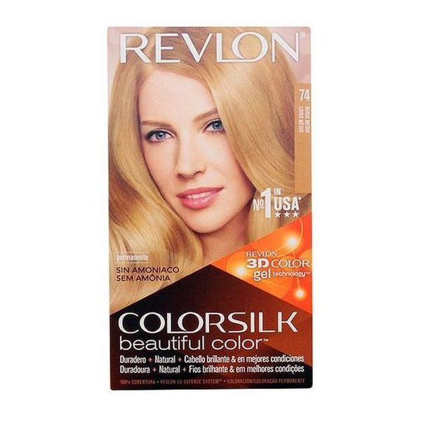 Dye No Ammonia Colorsilk Revlon Blonde