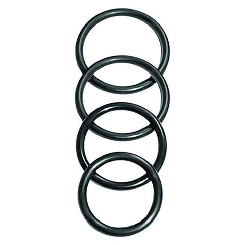 O-Rings Set 4 Assorted Sizes Sportsheets SS694-01