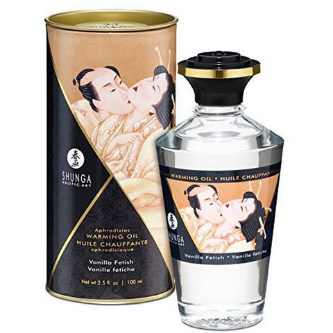 Heat Effect Oil Vanilla (100ml) Shunga 22071