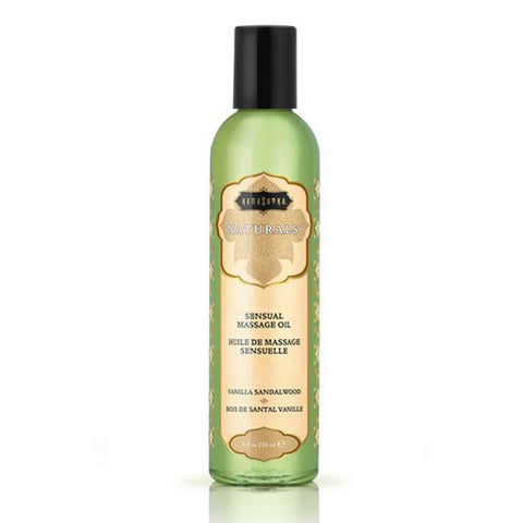 Naturals Massage Oil Vanilla Sandalwood Kama Sutra 10244