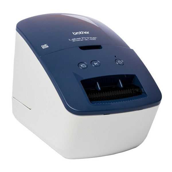 Label Printer Brother QL600B 300 dpi 71 mm/s USB 2.0 Blue