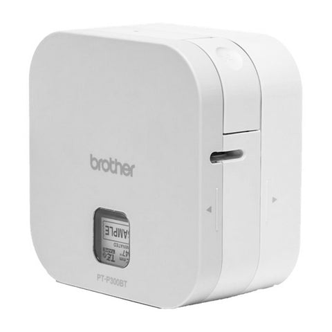 Label Printer Brother PTP300BT Cube 180 dpi 20 mm/s White