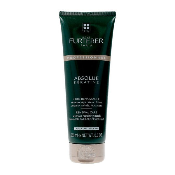 Restorative Hair Mask Absolue Keratine Thick Hair René Furterer (250 ml)