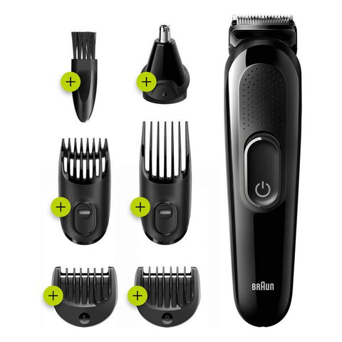Rechargeable Electric Shaver Braun MGK3220 0.5 mm Black