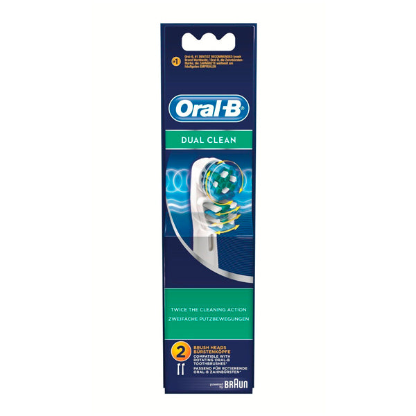 Replacement Head Dual Clean Oral-B (2 uds)