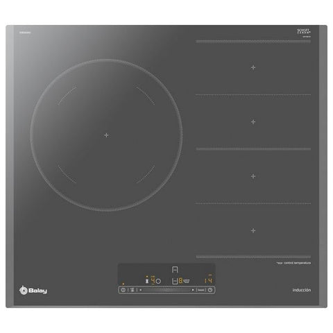Plaques Flexinduction Balay 3EB969AU 60 cm Anthracite