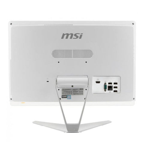 "All in One MSI PRO 20EX 8GL-001XEU 19,5"" Celeron N4000 4 GB RAM 1 TB White"