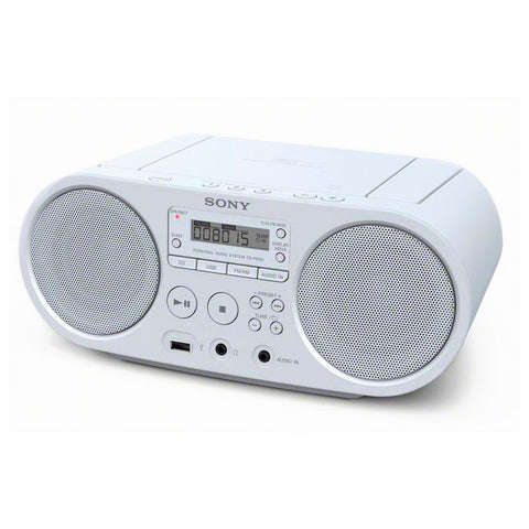 CD Radio Sony ZS-PS50 White