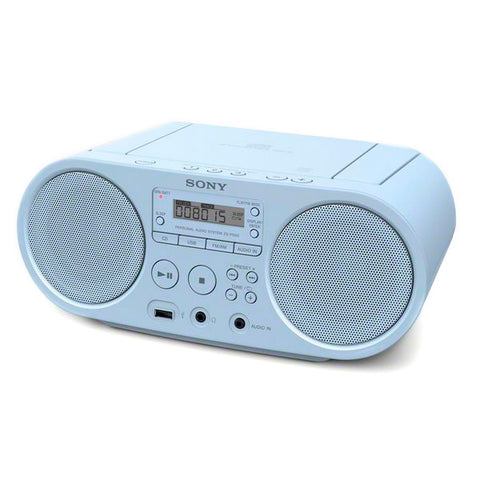 Radio CD Sony ZS-PS50 Bleu