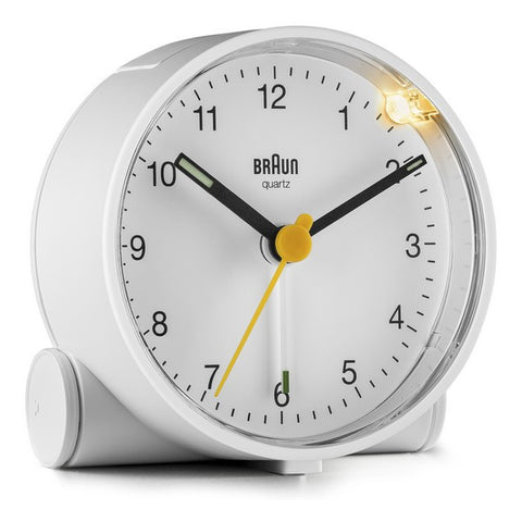 Analogue Alarm Clock Braun BC-01-W White