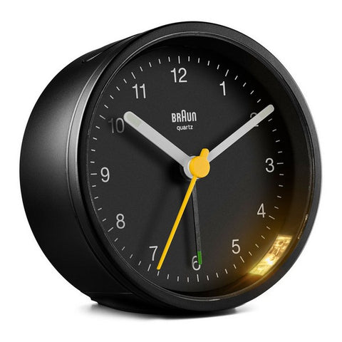 Analogue Alarm Clock Braun BC-12-B Black