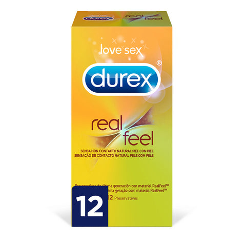Real Feel Condoms Durex (12 uds)