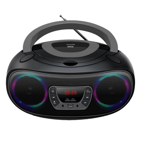 Radio-CD Bluetooth MP3 Denver Electronics TCL-212 4W Gris