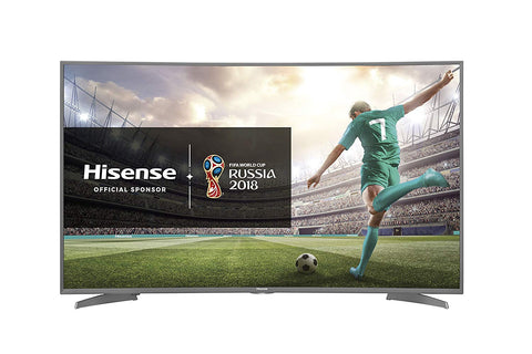 "Smart TV Hisense H55N6600 55"" 4K Ultra HD LED WIFI HDR Silver Curve"