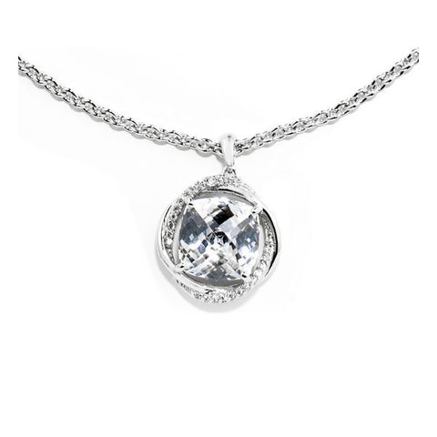 Ladies' Pendant GC Watches CWN81109 Silver (50 Cm)