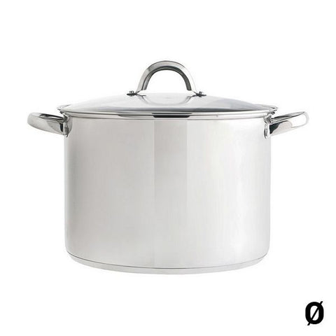 Pot with Glass Lid Quid Stainless steel